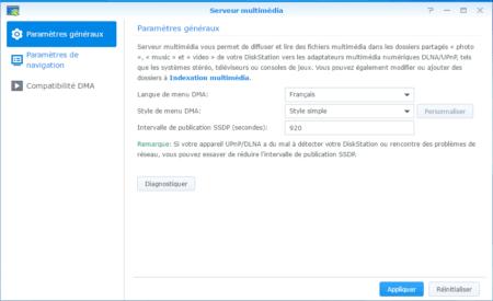 Étape 09 : Définissez la langue du serveur multimédia sur Français