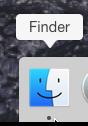 Sous OSX, commencez par ouvrir le Finder