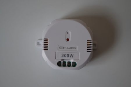 Le variateur d'électricité Chacon CH54756
