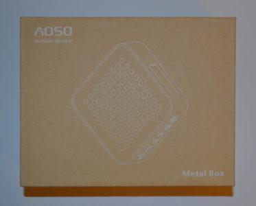 La boite de l'enceinte étanche Bluetooth