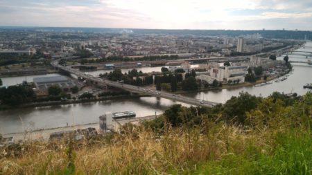 Photo prise depuis le panorama Sainte Catherine avec le ZenFone2 et le filtre dégradé gris