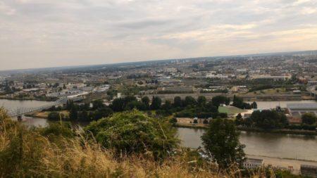 Photo prise avec le ZenFone2 depuis le panorama Sainte Catherine