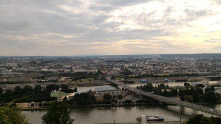 Photo prise depuis le panorama Sainte Catherine avec le ZenFone2
