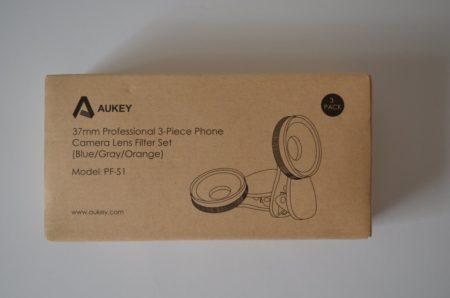Kit de 3 filtres dégradés (gris, bleu et orange) pour smartphone