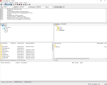 Connexion à un NAS Asustor via le protocole FTP