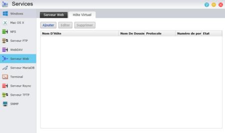 ADM permet de créer des hôtes virtuels pour héberger plusieurs sites