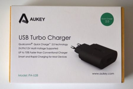 Aukey PA-U28 : chargeur USB Quick Charge 2.0