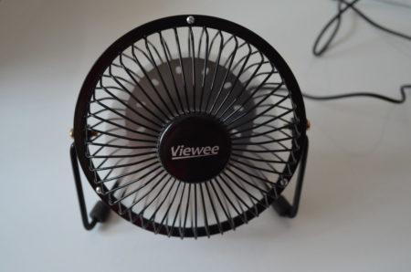 Le ventilateur en fonctionnement