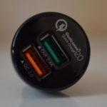 [Test] Chargeur USB pour voiture Quick Charge 2.0, par Aukey
