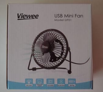 La boite du ventilateur UF01 de Viewee