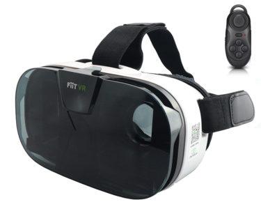 Casque de réalité virtuelle avec télécommande bluetooth