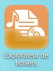 Cliquez en premier lieu sur l'icône Explorateur de fichiers