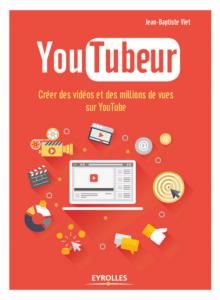 La couverture du livre YouTubeur publié chez Eyrolles