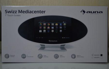 La boîte de la tablette Auna Swizz 3G
