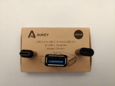 2 micro-USB vers USB-C et un USB A vers USB C