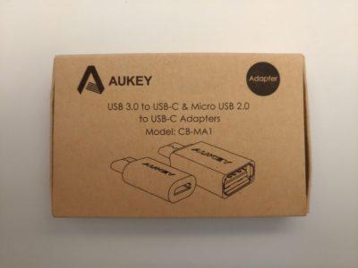 La boîte du kit Aukey