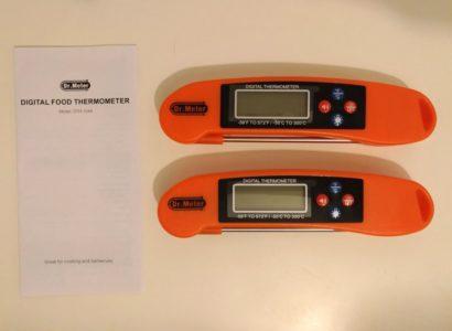 La boîte contient 2 thermomètres !!