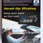 [Test] Afficheur tête haute OBD2 pour voiture