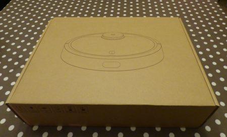 Le carton de l'aspirateur robot de Xiaomi