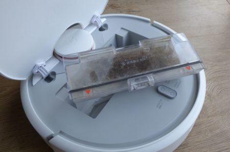 Le bac récupérateur n'est pas très grand et devra être vidé après chaque utilisation