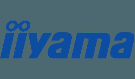Le logo de la marque Iiyama