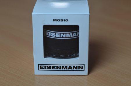 Enceinte bluetooth Eisenmann avec fonction radio, lecteur micro-SD...