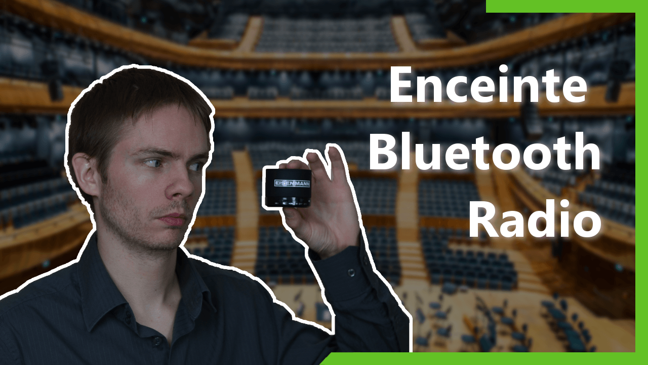 Enceinte Bluetooth et radio Eisenmann