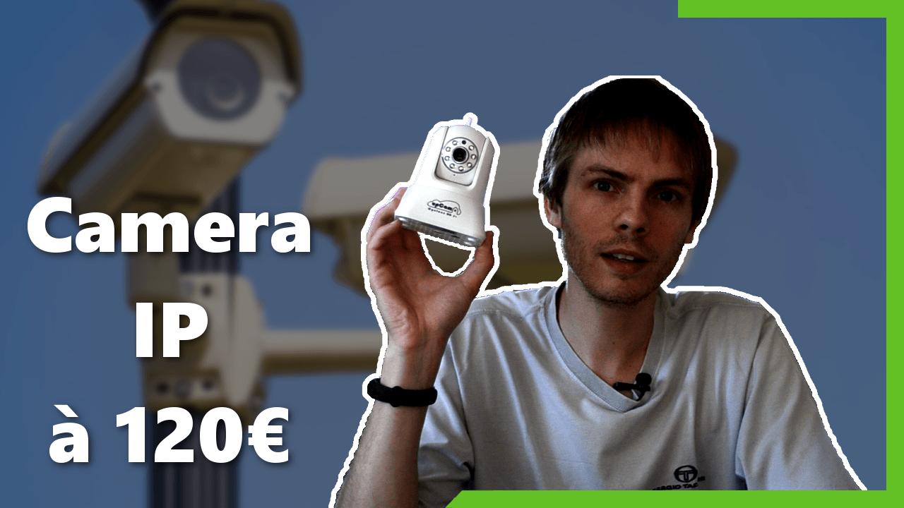 Caméra IP Upcam Cyclone HD S+