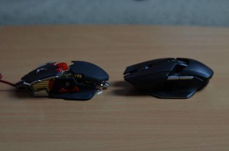La souris peut rappeler certains traits de la Razer Ouroboros