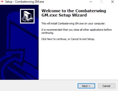 Appuyez sur Next pour installer le logiciel