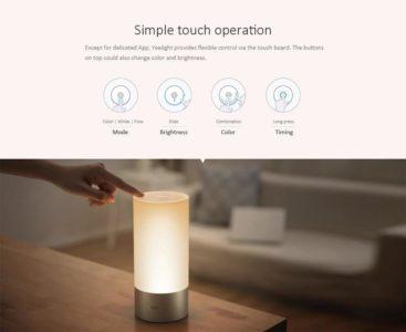 Explications du fonctionnement de la lampe