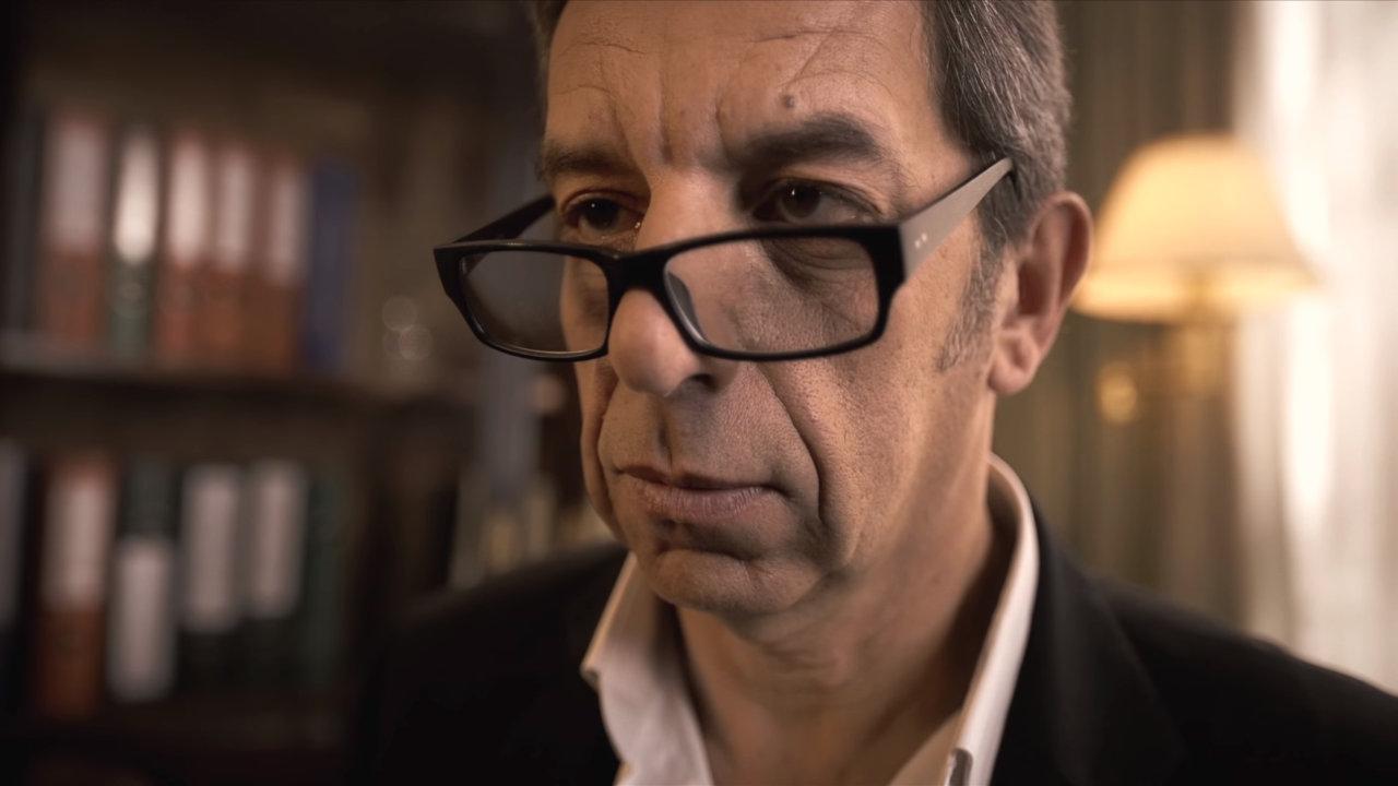 Michel CYMES dans le court métrage Diagnostic