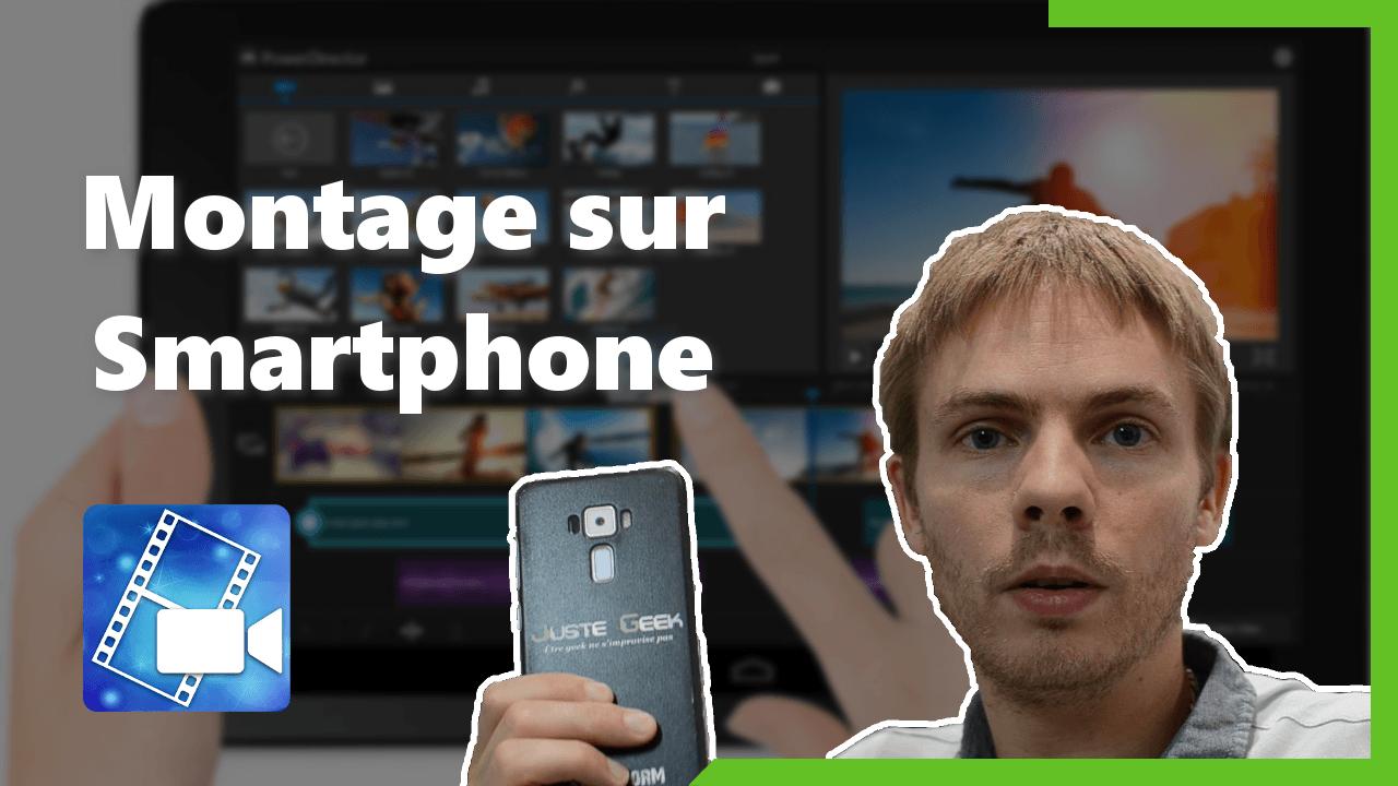 Montage vidéo sur Smartphone