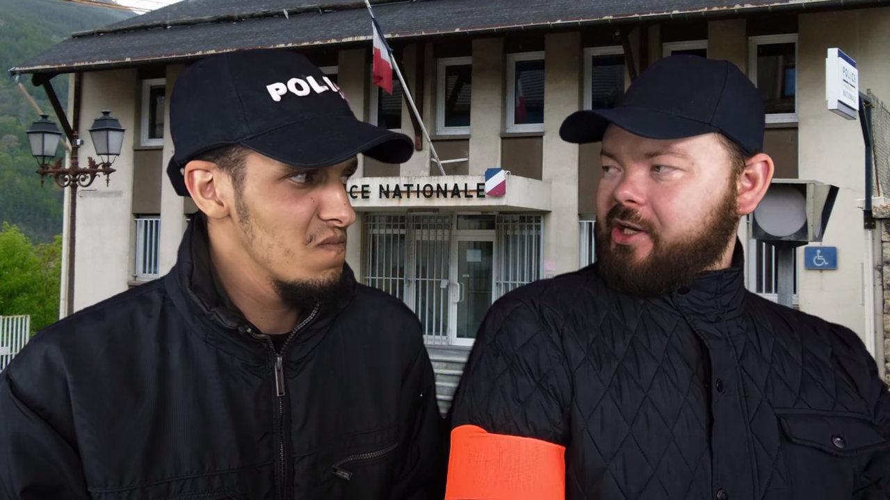 Daniil Le Russe Police française et russe