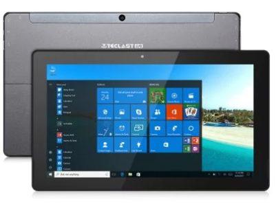 Une tablette sous Windows 10 avec une configuration musclée