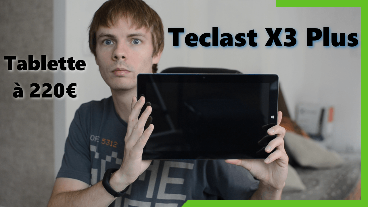 Test de la Teclast X3 Plus