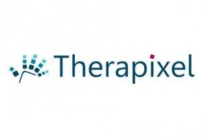 Le logo de la startup Therapixel
