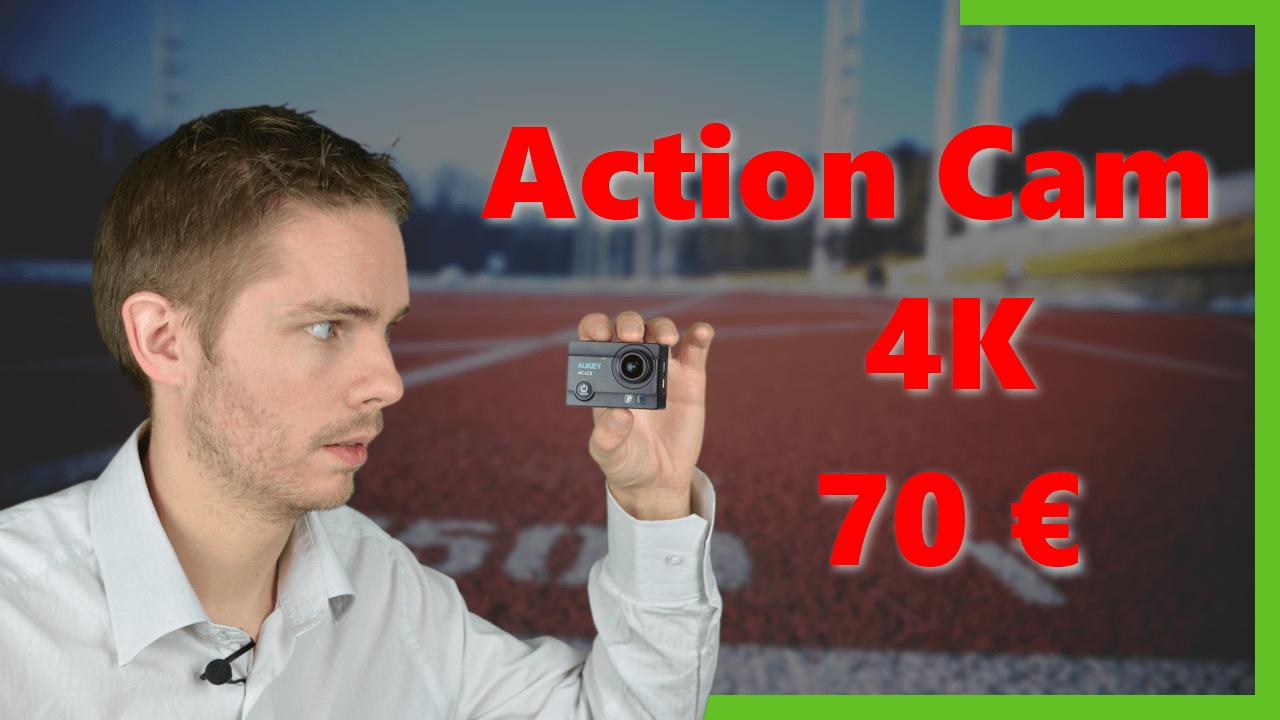 Une ActionCam 4K à 70€