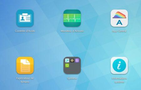 ADM 3 permet de faire des dossiers pour regrouper des applications