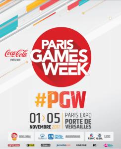 L'affiche de la Paris Games Week 2017