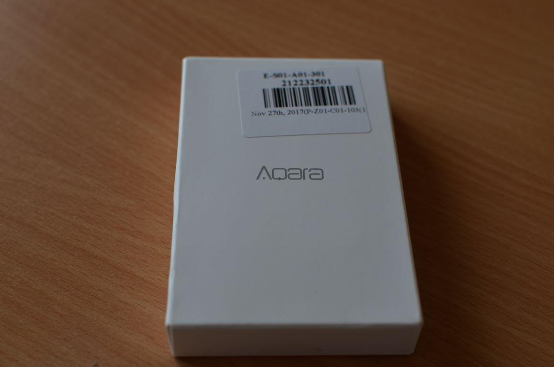 La boite du détecteur d'ouverture Aqara