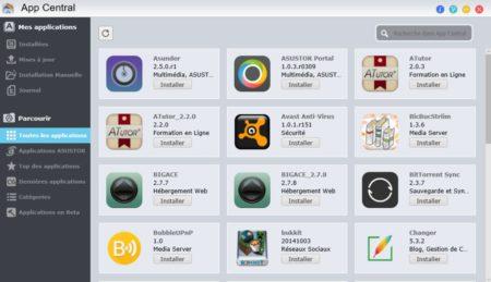 """Cliquez à gauche sur """"Toutes les applications"""" et recherchez VirtualBox"""