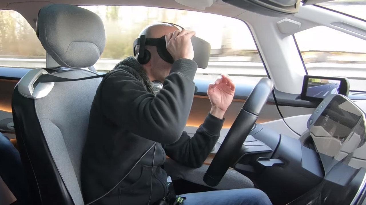 VR dans une voiture autonome