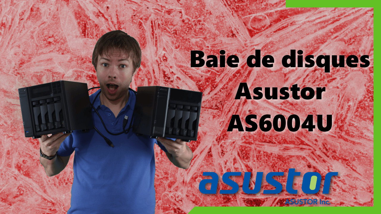 AS6004U : baie d'extension Asustor