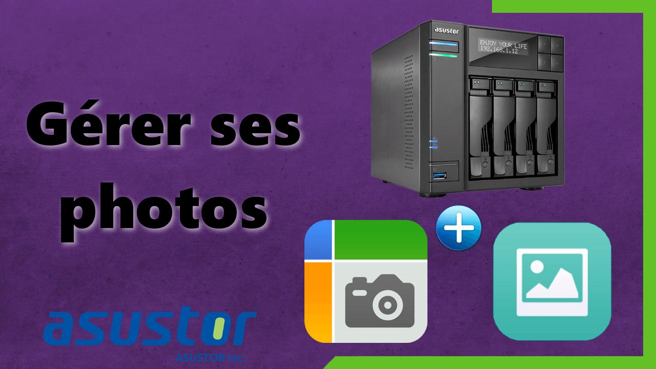 Accéder à ses photos de partout avec AiFoto d'Asustor