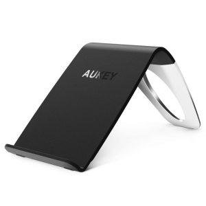 Un chargeur de smartphone sans fil (technologie Qi)