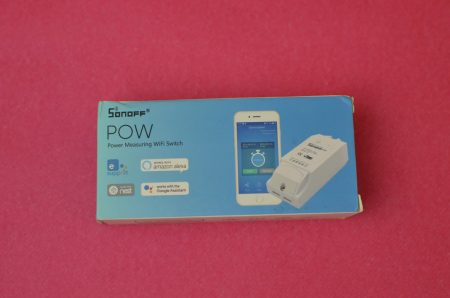 La boîte du Sonoff Pow