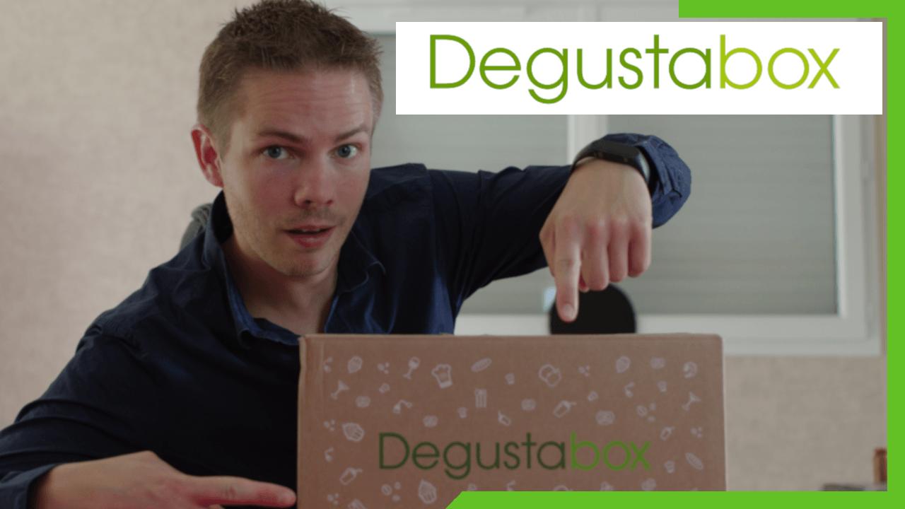 Présentation et unboxing de la Degustabox de mai 2018