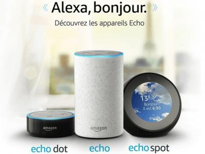 Sortie de l'Amazon Echo en France le 13 juin 2018