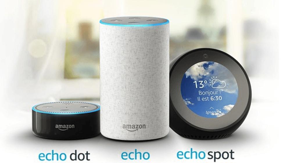 Les appareils Echo disponibles en France